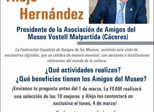 ENCUENTROS DIGITALES. ALEJO HERNÁNDEZ