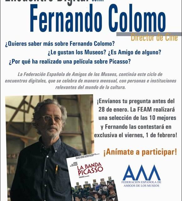 ENCUENTROS DIGITALES. FERNANDO COLOMO