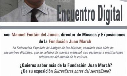 ENCUENTROS DIGITALES. MANUEL FONTÁN DEL JUNCO