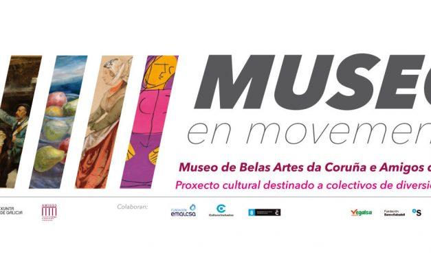 exposición de los trabajos de la IV edición de un museo en movimiento