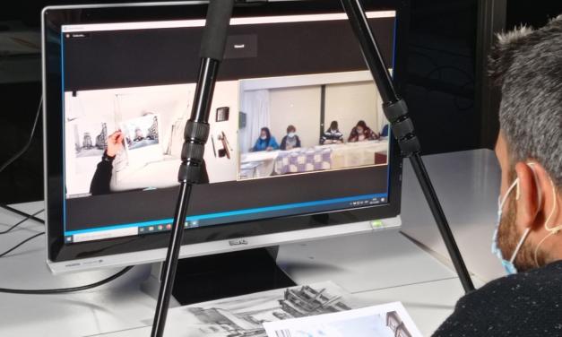 exposición dos traballos realizados no marco do proxecto «Identidades, as artes para a inclusión social»